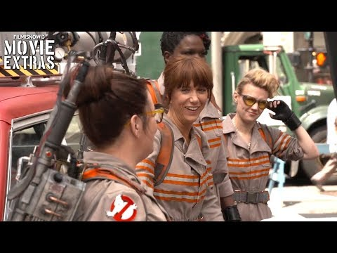 Go Behind the Scenes of Ghostbusters (2016)