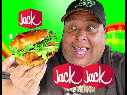 Jack In The Box® Guacamole & Bacon Chicken Sandwich REVIEW!
