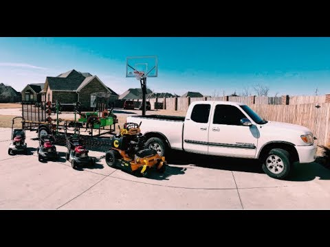 Lawn Care Trailer Setup 2019