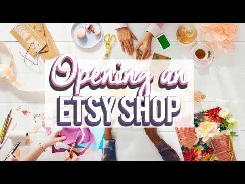 How to open an Etsy Shop; Etsy Shop Tips Ι TaraLee