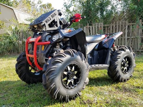 polaris scrambler 850 walkaround and ride youtube. Black Bedroom Furniture Sets. Home Design Ideas