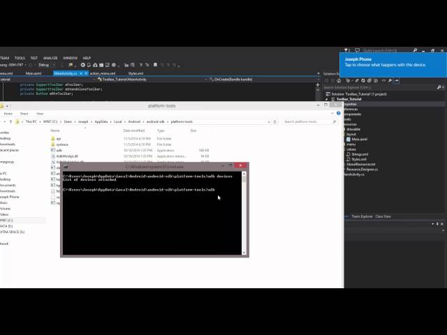 Xamarin Android Tutorial   51   Debugging Wirelessly