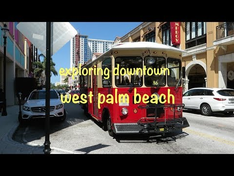 Explore Downtown West Palm Beach with a Ride Around the Trolley