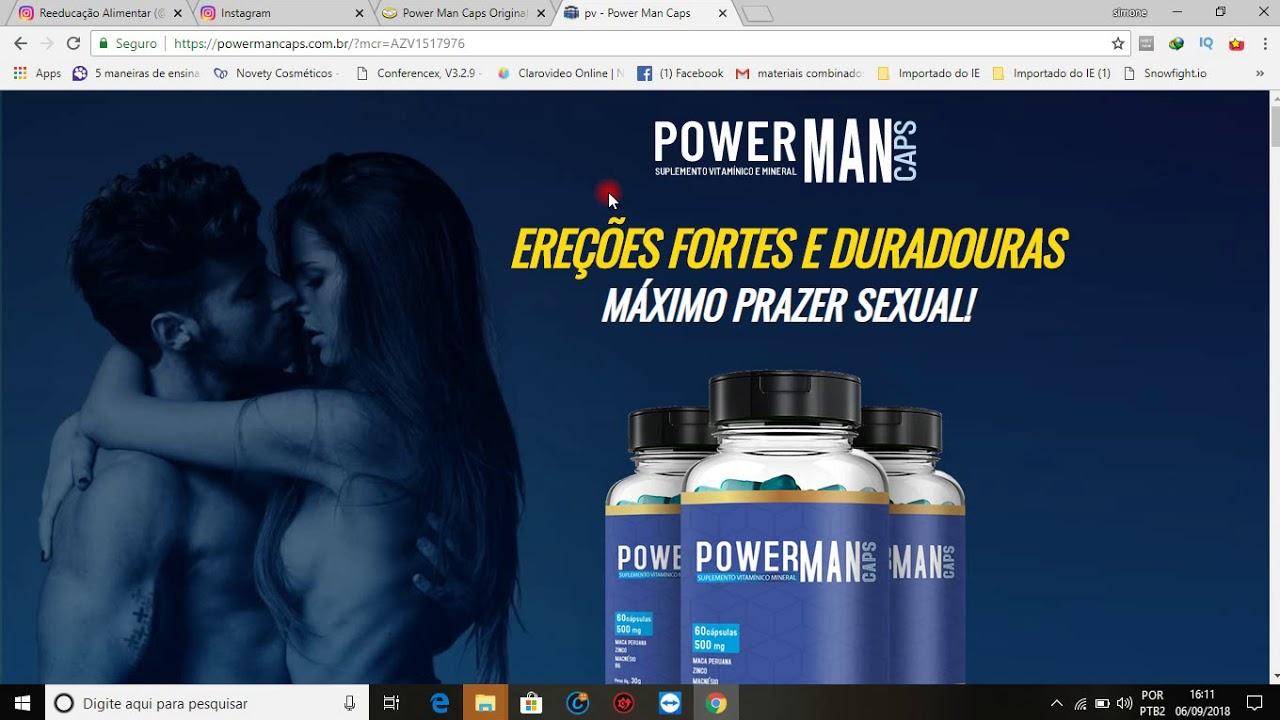 Estimulante sexual man