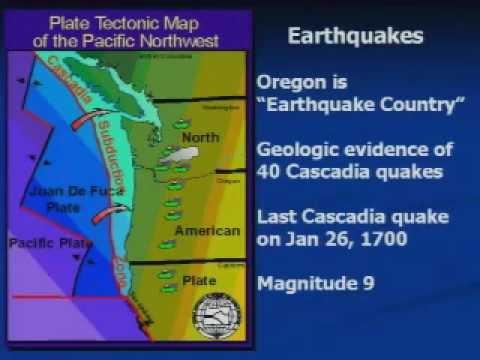 Oregon's Earthquake Hazard, Part One