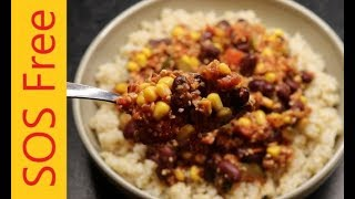 Chilli Sin Carne | Salt/Oil/Sugar-Free | Vegan | WFPB