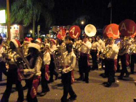 AJMS Marching Band in 2013 Titusville Parade - YouTube
