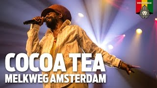 Cocoa Tea Live at Melkweg Amsterdam 2015