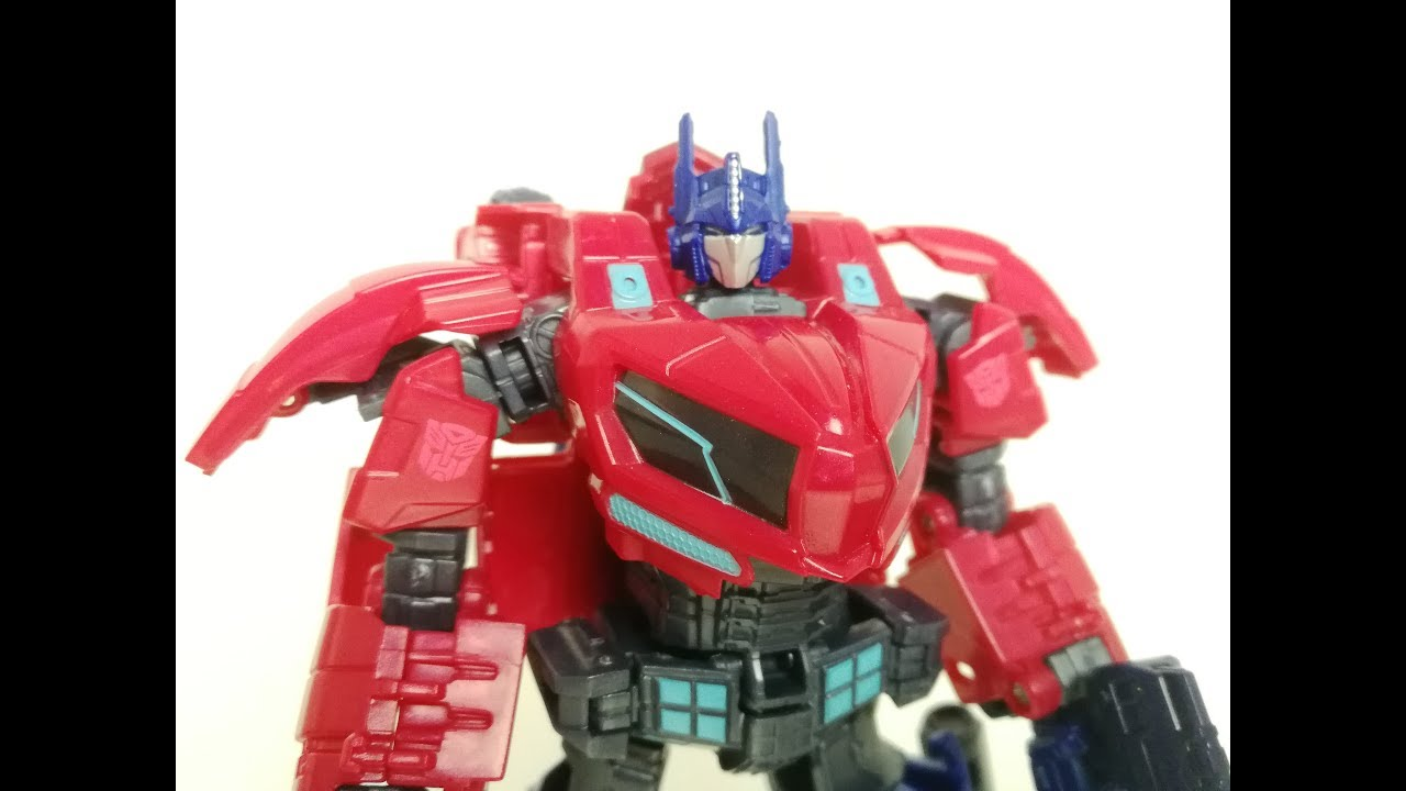 Transformers Fall of Cybertron Optimus Prime from Tribute Evolution Pack New