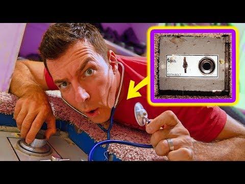 I Found A Secret Abandoned Safe Hidden In The Floor!  What's Inside?