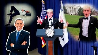 I SLEPT IN THE WHITE HOUSE OVERNIGHT... OMGGG SUBSCRIBE ▻ http://bi...
