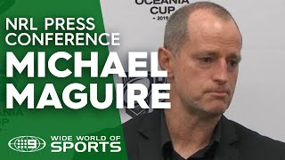 Test Match Press Conference: Michael Maguire   NRL on Nine