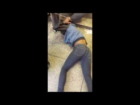 NYC Woman Smokes SYNTHETIC WEED . . . And Goes CRAZY . . .