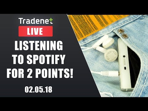 Day Trading Live - Listening to Spotify for 2 points!
