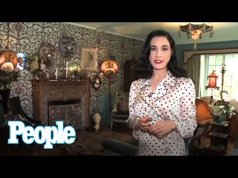 Dita Von Teese's Massive Shoe Collection  People