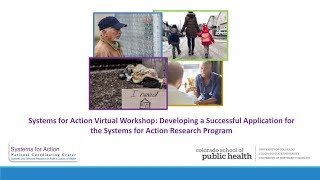 Virtual Workshop: Developing a Successful Application for the Systems for Action Research Program