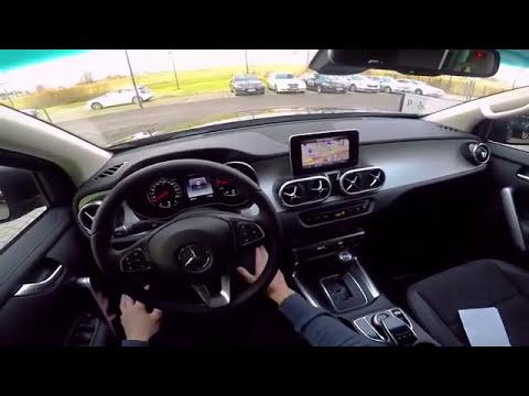 Mercedes X-Class X250d - POV Drive