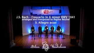 J.S. Bach Violin concerto in A minor BWV 1041 - Allegro assai