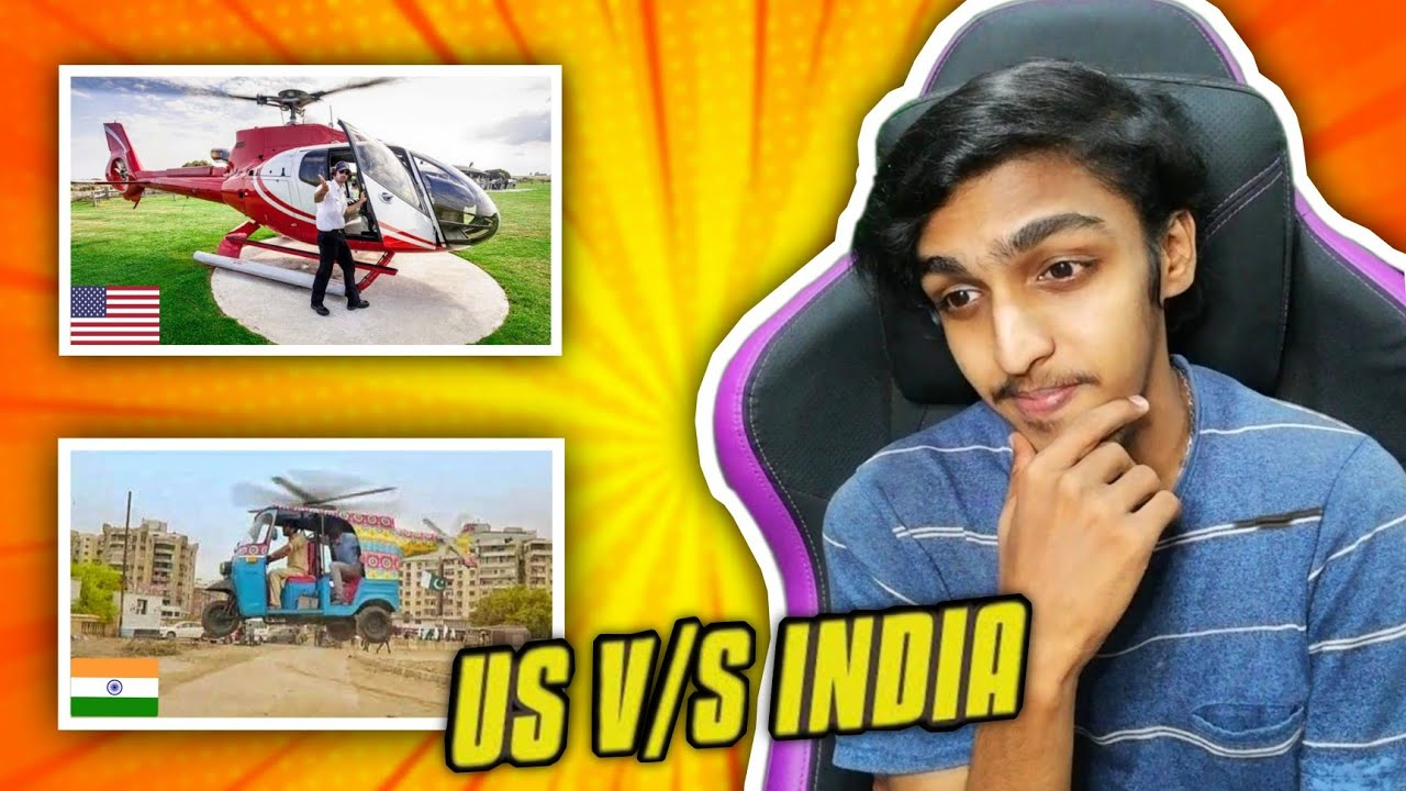 US V/S INDIA !! REAL GT
