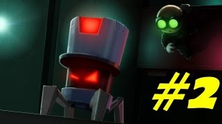 Stealth Inc.: A Clone In the Dark Walkthrough Part 2 Gameplay Review Lets Play Playthrough