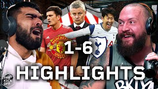 MAN UTD 1-6 SPURS - GOAL REACTIONS
