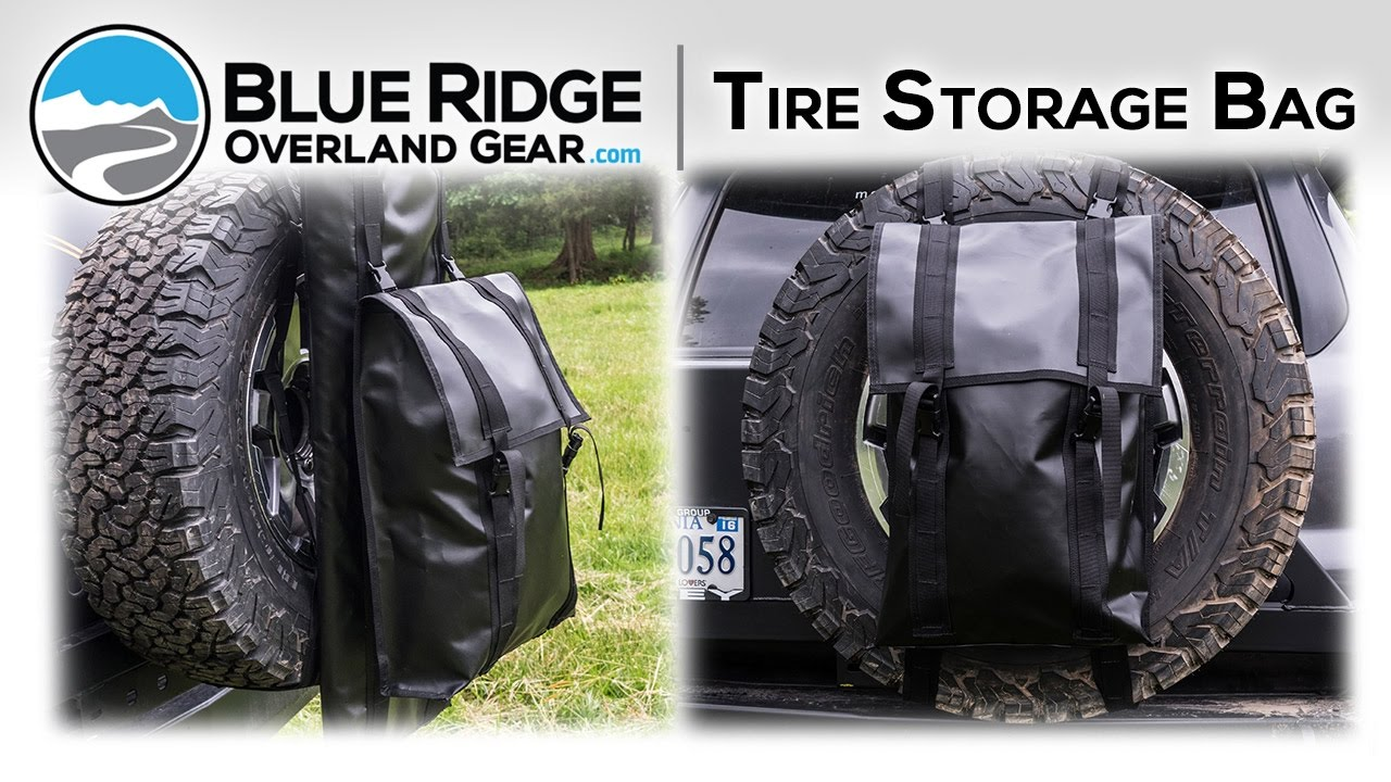 Blue Ridge Tire >> Blue Ridge Overland Tire Storage Bag Youtube