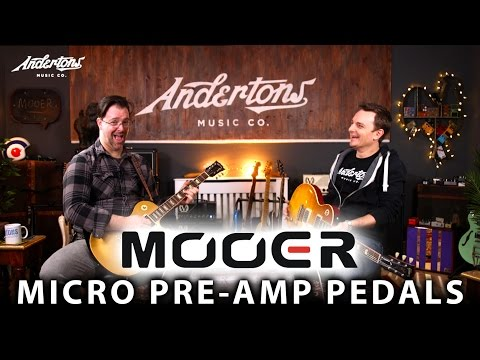 Mooer Micro Preamp Pedals - Is it a Pedal, a Preamp or a DI.... Or All 3!?!