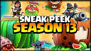 NUEVA SEASON *BATALLA TROPICAL* EL BUFF A LOS ZAPPIES ESTA OP - Sneak Peek - Clash Royale - WithZack