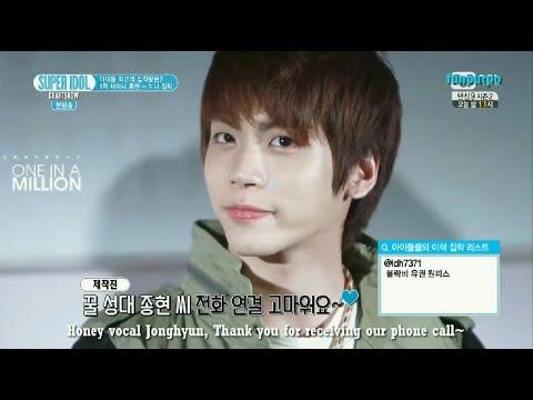 [ENG] 140808 SHINee Jonghyun cut Noona Obsession 1st - Super Idol Chart Show