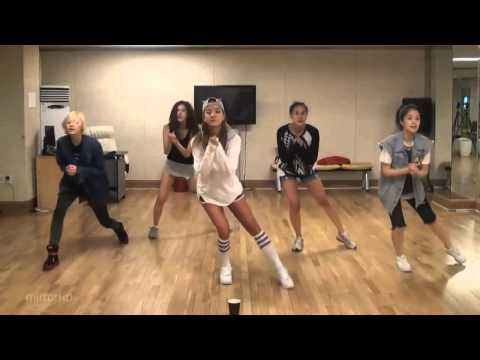 Spica   I'll Be There mirrored Dance Practice