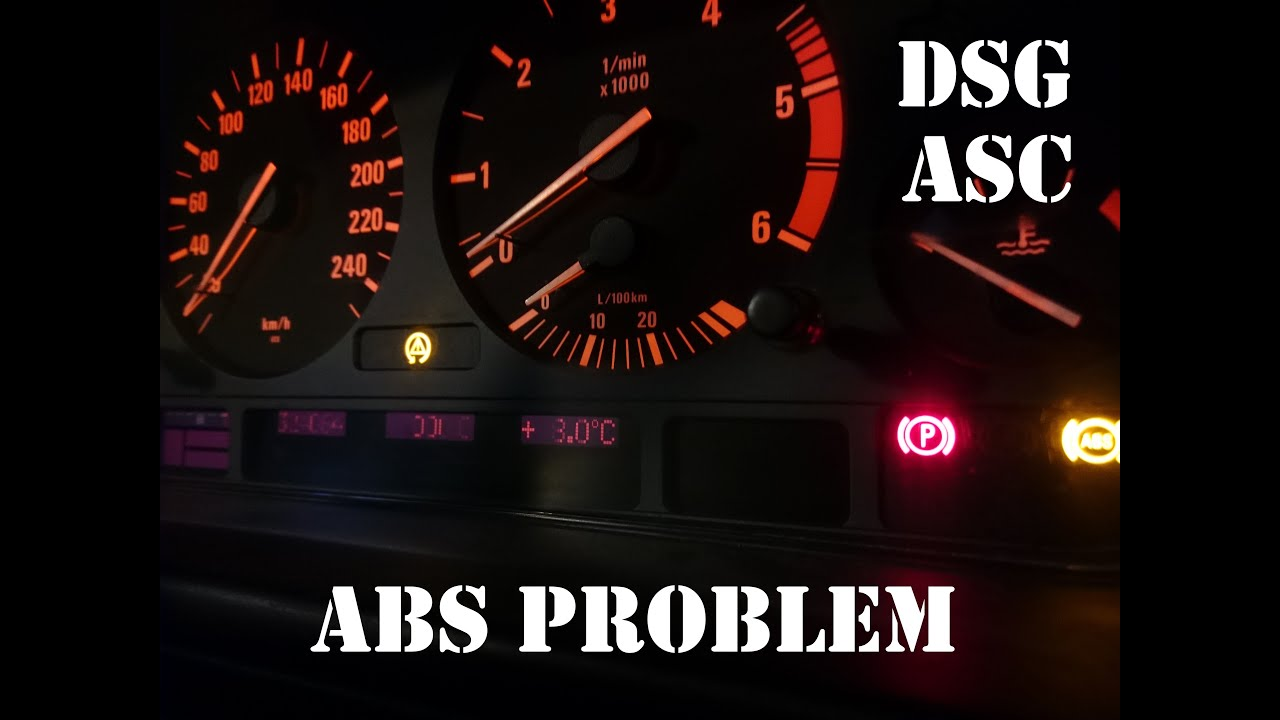 How to fix BMW ABS and ASC in 5 minutes - YouTube