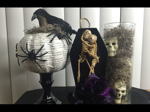 HALLOWEEN DIY DECOR(PINTEREST INSPIRED)