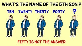 5 Tricky Riddles That Will Drive You Insane | Riddles and Brain Teasers | Learn With Riya