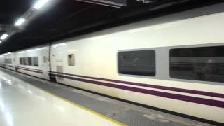 アキーラさん乗車②タルゴ(モンペリエ⇒バルセロナ)・Talgo VI (Montpellier⇒Barcelona)