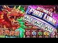 ULTIMATE Fire Link Slot Machine Free Games & Fire Link Feature Won | MIGHTY CASH Slot Machine Bonus