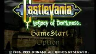 Castlevania: Legacy of Darkness N64 Intro