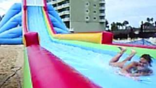 world s tallest biggest fastest inflatable water slide