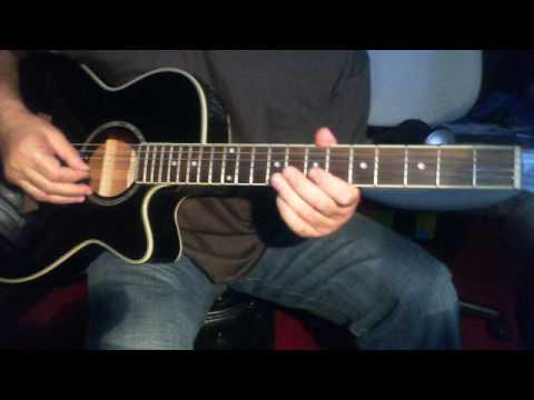 Aage bhi jaane na tu On Acoustic Guitar