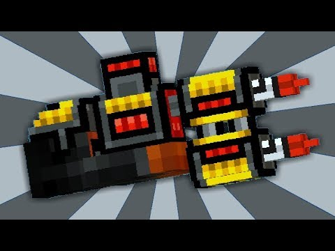 PROBANDO MANOS DE COHETE EN PIXEL GUN 3D | Pixel Gun 3D | enriquemovie