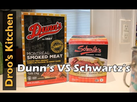 Trying Montreal Smoked Meat - Schwartz's vs Dunn's