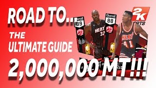 NBA 2K17 - MyTeam - 2,000,000 MT - SNIPE STRATEGY