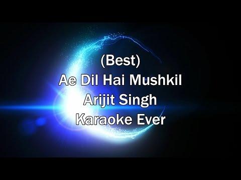 Tu Safar Mera - Ae Dil Hai Mushkil Karaoke with Lyrics + Download Link in Description | Arijit Singh thumbnail