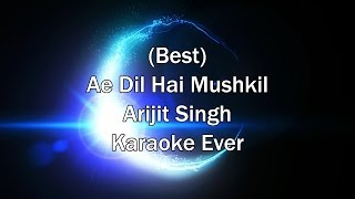 Tu Safar Mera - Ae Dil Hai Mushkil Karaoke with Lyrics + Download Link in Description | Arijit Singh