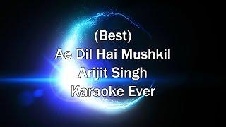 Tu Safar Mera - Ae Dil Hai Mushkil Karaoke with Lyrics + Download Link in Description   Arijit Singh