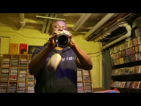 Sam Newsome - solo soprano saxophone - at Downtown Music Gallery - June 3 2018