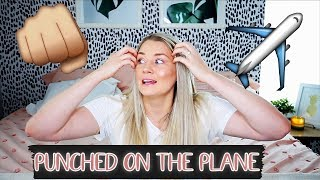 I WAS PUNCHED WHILE WORKING AS A FLIGHT ATTENDANT || Story Time