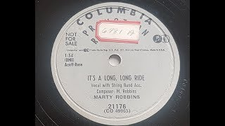 Watch Marty Robbins Its A Long Long Ride video