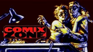 Comix Zone (Genesis) All Bosses (No Damage)