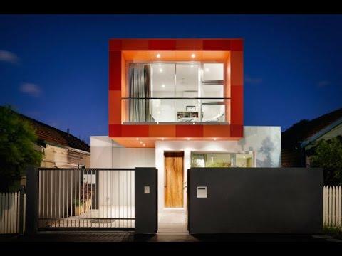 Dise o de casa moderna de dos plantas con planos youtube for Viviendas modernas de una planta