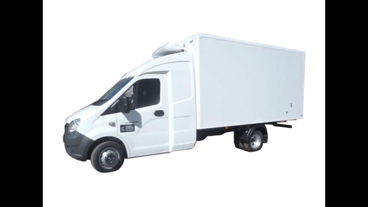 ГАЗель Next с закабинным спальником. Рефрижераторный фургон на 8 европалет, 21м3